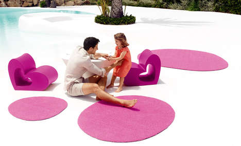 Heart-Shaped Patio Furnishings - Agatha Ruiz de la Prada