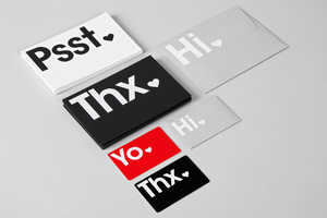 This Typographic Visual Branding Look is Fresh and Minimalist