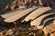 This Desert House Looks More Like a Superhero Lair