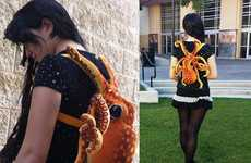 Plush Octopus Backpacks