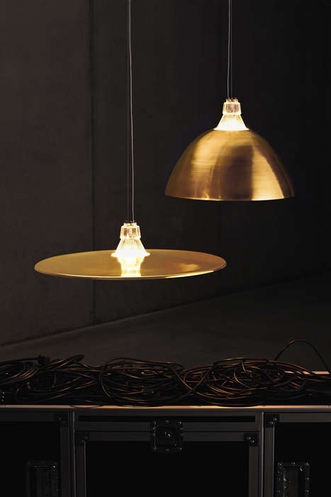 Drum Kit Lighting - Crash & Bell by Foscarini Brings a Musical Element into the Home
