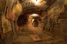 Wooden Tunnel Installations