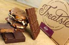 Chocoholic Subscription Boxes - Treatsie's Food Subscription Box is Full of Chocolate Snacks