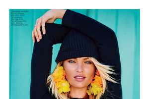Candice Swanepoel Stuns in the Lucky June 2014 Issue