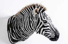 Animalistic Pencil Sculptures