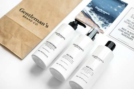 Minimalist Skincare Kits - This Useful Father's Day Gift is Hip and Sleek