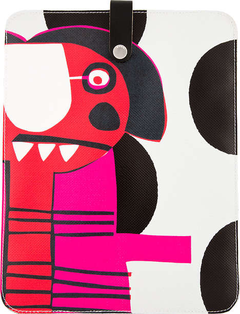 Modern Art Tech Cases - This Marni Edition Tablet Case Features Art by Katja Schwalenberg