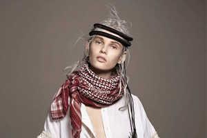 The May 2014 Vogue Netherlands Dukauskaite Photoshoot is Boho Chic