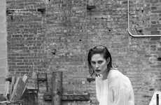 Gritty Androgynous Editorials - The Spring/Summer Rika Magazine McNeil Photoshoot is Ambiguous