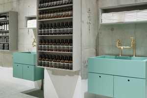 Torafu Architects' Aesop Kawaramachi Store Embodies Minimalism