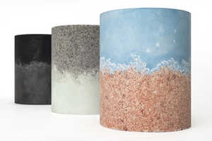 The AMMA Studio Collection is Made Out of Coffee Grounds and Salt