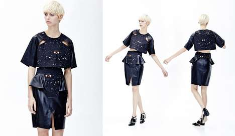 Galactic Sophistication Apparel - The Cres.E Dim Spring/Summer Collection by Kim Hongbum