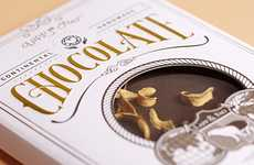 Postcard Chocolate Branding - Lapp & Fao Send Out Greetings for Those with a Sweet Tooth