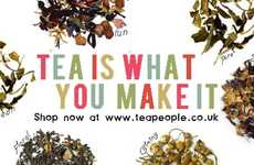 Education-Supporting Hot Drinks - 'Tea People' is a Social Enterprise Offering Specialty Beverages