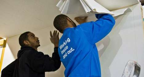 Ex-Offender Decorating Services - Bounce Back is a Social Enterprise Providing Paint Jobs