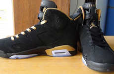 Rapper Basketball Sneakers - These Air Jordan 6 OVO Sneakers Were Designed by Drake