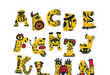 Cartoon Monster Typefaces