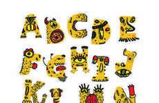 Cartoon Monster Typefaces