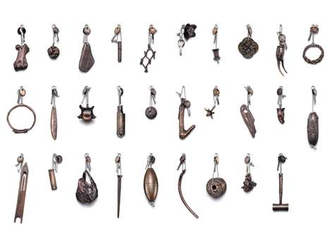 Lost Treasure Keychains - Chris Kabel Creates Key Fobs from Objects Found on Fogo Island