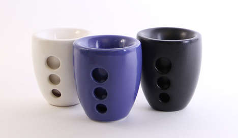 3D-Printed Ceramic Cups - Bhold