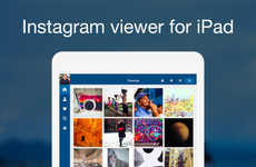 Tablet Photo Viewer Apps - Retro by Tiny Whale is a Handy Instagram Viewer for iPad