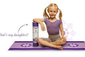 The Little Yoga Mat Sells Yoga Gear Suitable for Tiny Tots