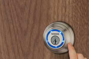 The Weiser Lock System by Kevo Eliminates the Need for Keys
