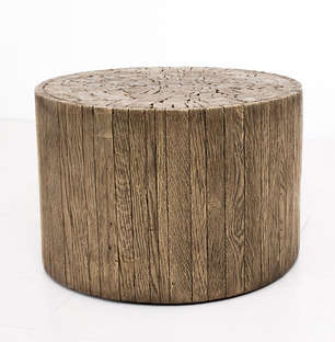 Tree Stump Seating - UHURU's Organic Furniture Pieces are Inspired by Nature