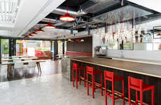 Futuristic Historical Headquarters - The MoreySmith Coca-Cola Headquarters Mixes Old with New