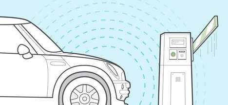 Car-Feedback Smartphone Apps - Automatic App Uses iBeacon Technology to Make Driving More Convenient