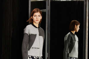 This Cut25 by Yigal Azrouel Ready-to-Wear Fall Fashion Favors Asymmetry