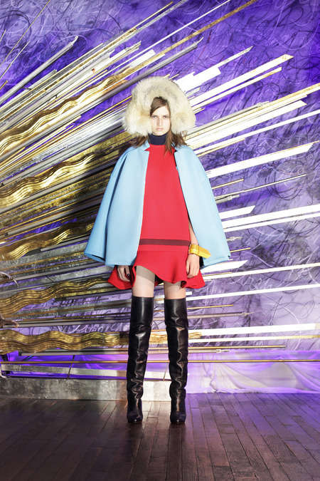 Scattered Model Fashion Shows - The Cynthia Rowley Fall 2014 Was Presented Casually