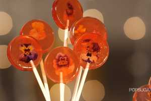 The Edible Flower Lollipops Make Perfect Thoughtful Gifts