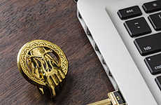 Fantasy Flash Drives - These Game of Thrones Flash Drives are Geeky Chic
