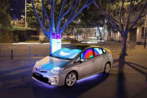Emotive Car Installations - The Toyota Prius