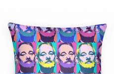 Warhol-Inspired Celeb Cushions
