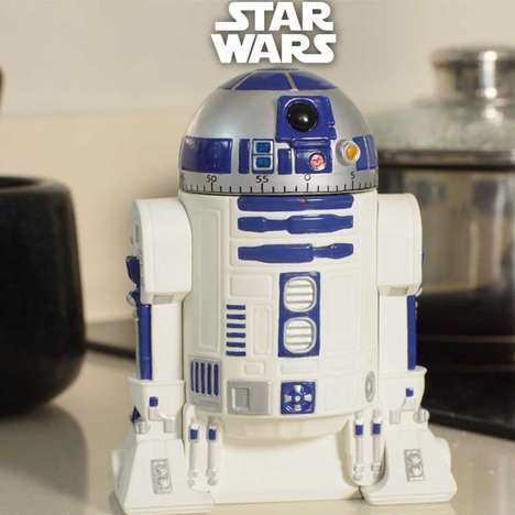Sci-Fi Kitchen Clocks - This Star Wars Timer Will Help You Countdown to the New Star Wars Movie