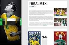 Stylized Soccer Websites - The 'ESPN FC World Cup Essentials' Website is Pretty and Informative