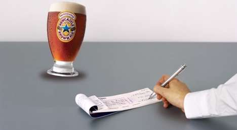 Bribing Social Campaigns - This Newcastle Brown Ale Twitter Campaign Will Pay You $1 for Following
