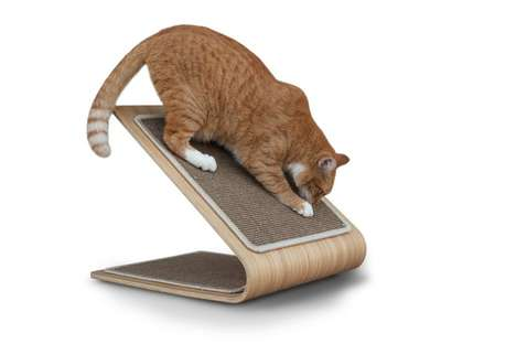 Contemporary Cat Scratchers - The Award-Winning Astoria Cat Scratch Post Won
