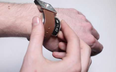 Hi-Tech Watch Accessories - The Glance Watch Accessory Turns Any Watch into a Smartwatch