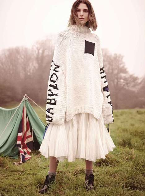 Bohemian Countryside Editorials - The UK Harper