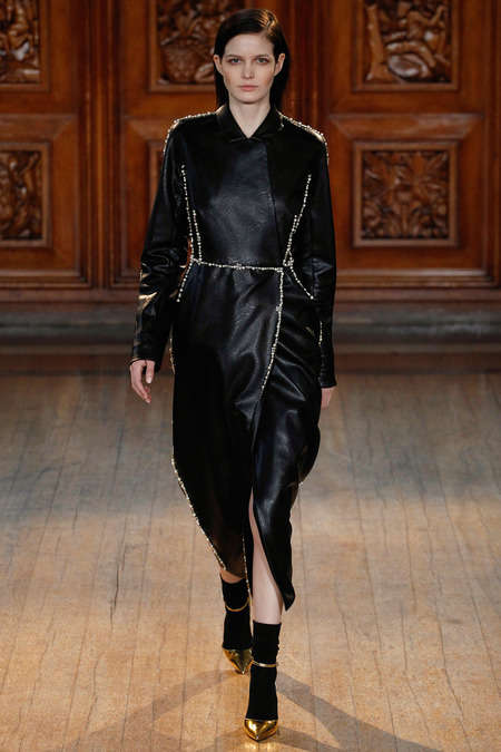 Goth Armor Apparels - The Emilia Wickstead Fall 2014 Collection is Goth