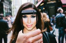 Satirical Celebrity Selfies - Dan Rubin Parodies Celebrity Culture with These Hilarious Selfies