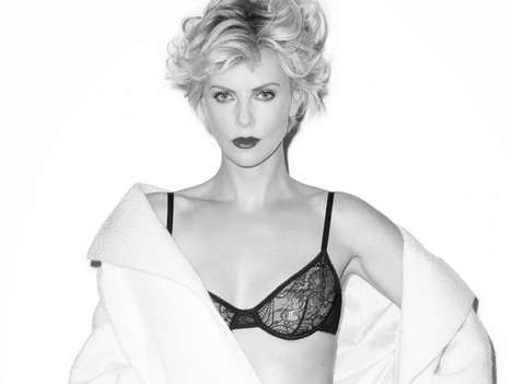 Sultry Symbolic Celeb Editorials - Charlize Theron Stars in the Esquire UK July 2014 Cover Story