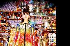 Fiercely Shimmering Editorials - The Vogue Japan Photoshoot Stars Chiharu Okunugi