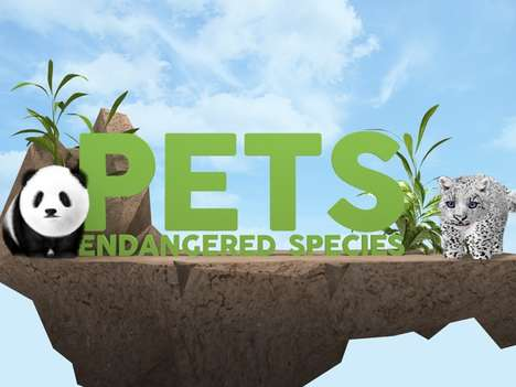 Endangered Virtual Pet Games - Pets Endangered Species Lets You Take Care of Disappearing Animals