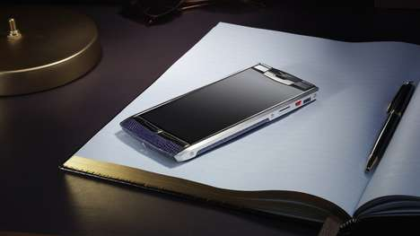 Exorbitantly Expensive Smartphones - The Vertu Signature Touch Phone Boasts a $11,300 Price Tag