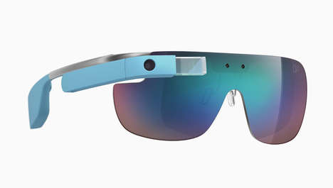 Virtual Designer Glasses - The Made for Glass Collection by DVF Dresses Up Google Glasses