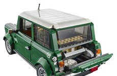 Iconic Building Block Cars - The LEGO Mini Cooper is a Cute Replica of the Classic Car